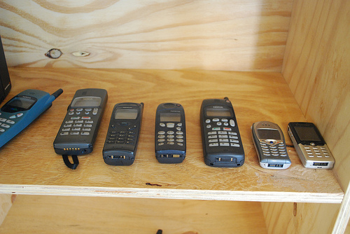 Mangrove old mobiles